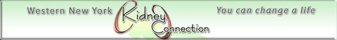 link to the WNY Kidney Connection website